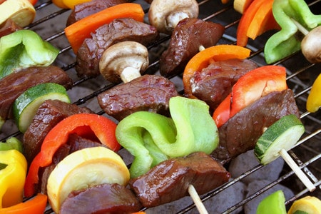 Photograph of Shish Kebobs