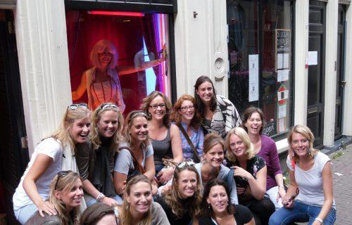 Vrijgezellenfeest fotoshoot Amsterdam